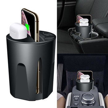 X9A Auto Bezvadu Fast Charger 2 in 1 IPhone 11 10W Ātrās Uzlādes Kauss ar USB iPhone 11/Pro/Pro Max Airpods 2th