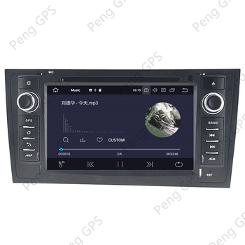 Android 10.0 GPS Navigācija, CD / DVD Atskaņotāju Audi A6 1997. - 2004. G Multivides Touch Screen Headunit 4G+64G Carplay DSP PX6 WIFI OBD