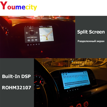 6G Ram+128G Rom/Wifi+4G/2Din Auto Radio Stereo Audio Tablete Android 10 Gps BT Video Atskaņotājs USB Carplay Par MITSUBISHI LANCER 9 X